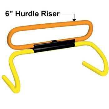 """Champion Sports 6"""" Mini Hurdle Risers Set"""