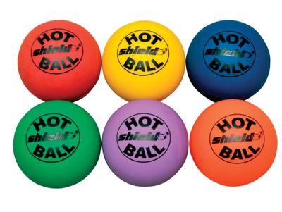 Shield Rainbow Floor Hockey Hotballs Set