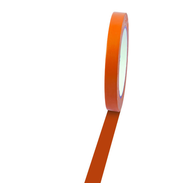 Champion Sports 1/2'' Colored Floor Tape orange