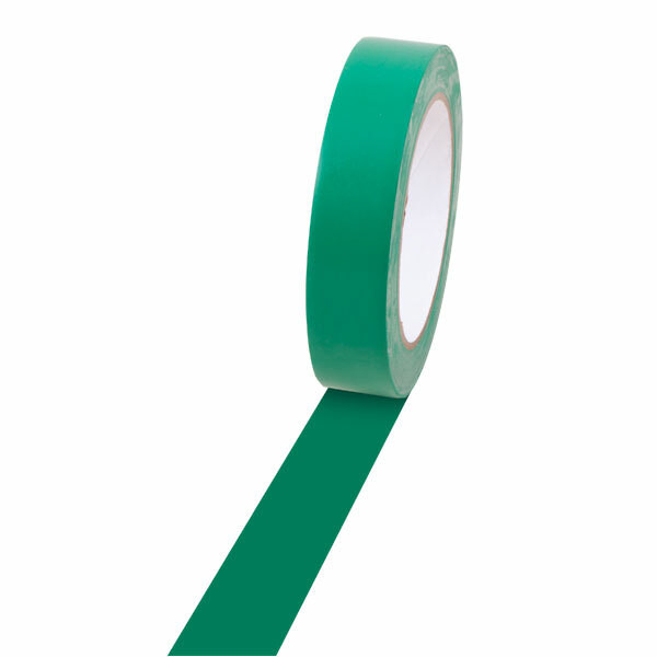 Champion Sports 1'' Colored Floor Tape green