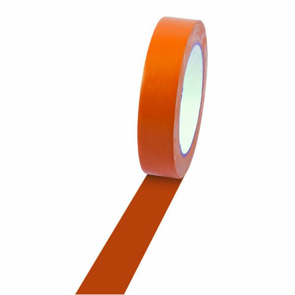 Champion Sports 1'' Colored Floor Tape orange