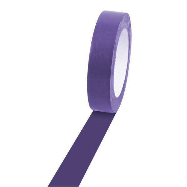 Champion Sports 1'' Colored Floor Tape purple