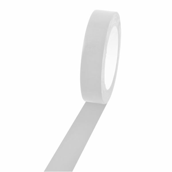 Champion Sports 1'' Colored Floor Tape white
