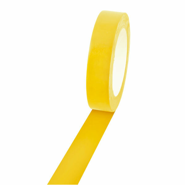 Champion Sports 1'' Colored Floor Tape yellow