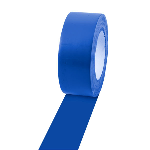 Champion Sports 2'' Colored Floor Tape Blue