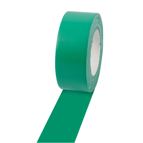 Champion Sports 2'' Colored Floor Tape Green