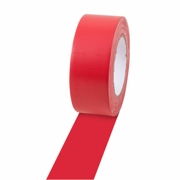 Champion Sports 2'' Colored Floor Tape Red