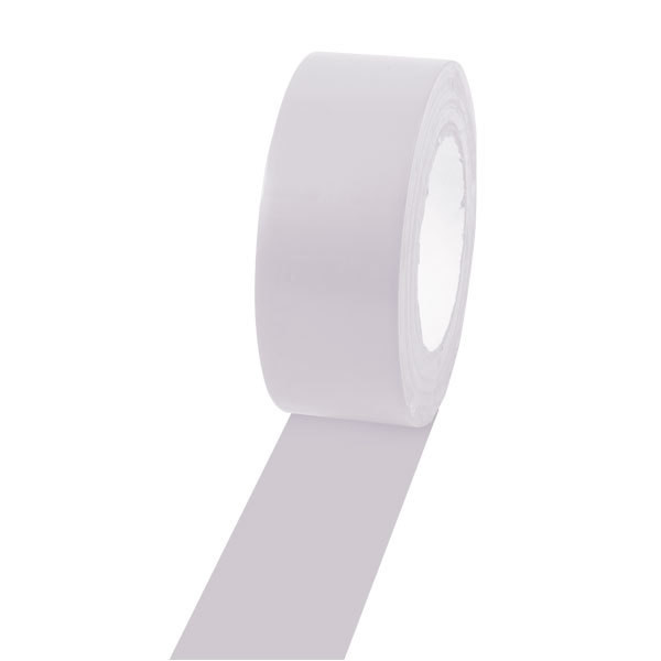 Champion Sports 2'' Colored Floor Tape White