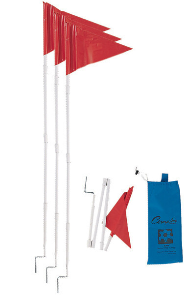 Champion Sports Fold-A-Flag Corner Flag Set