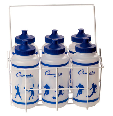 Champion Sports Economy Water Bottle Set W/ Carrier