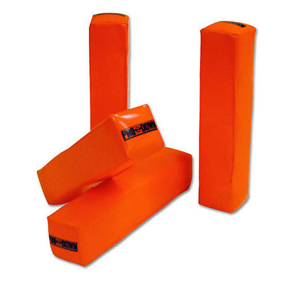 Weighted Anchorless Endzone Pylons Set