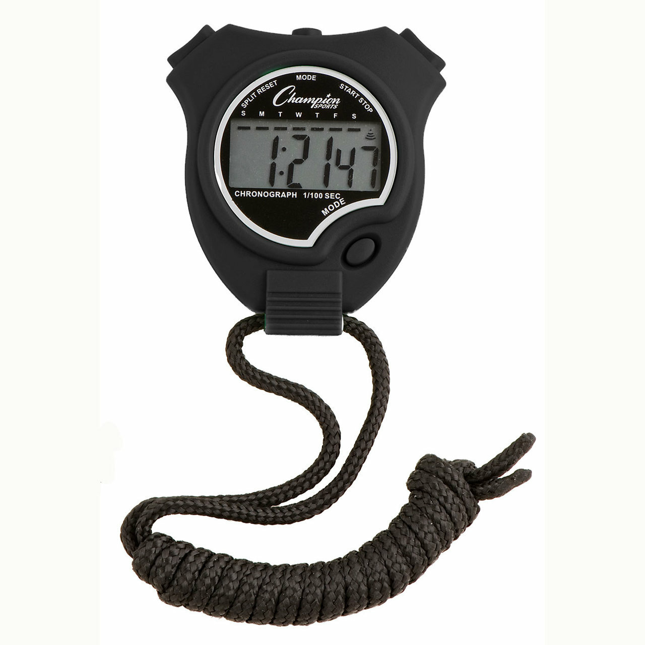 Champion Sports 910 Stopwatch and Timer Black