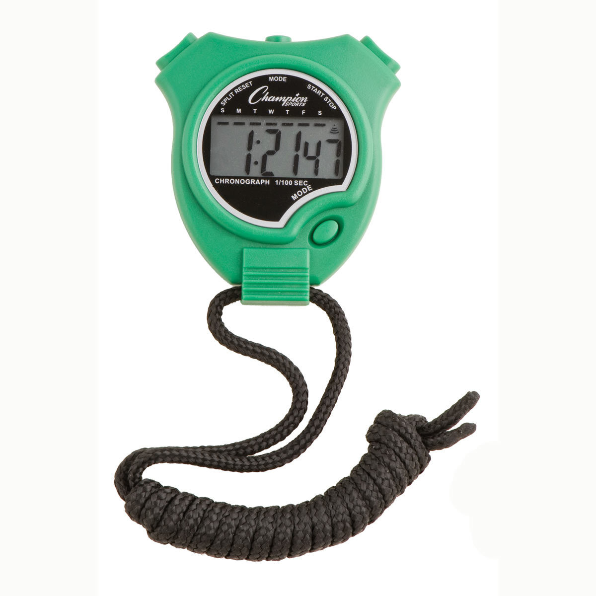 Champion Sports 910 Stopwatch and Timer Green