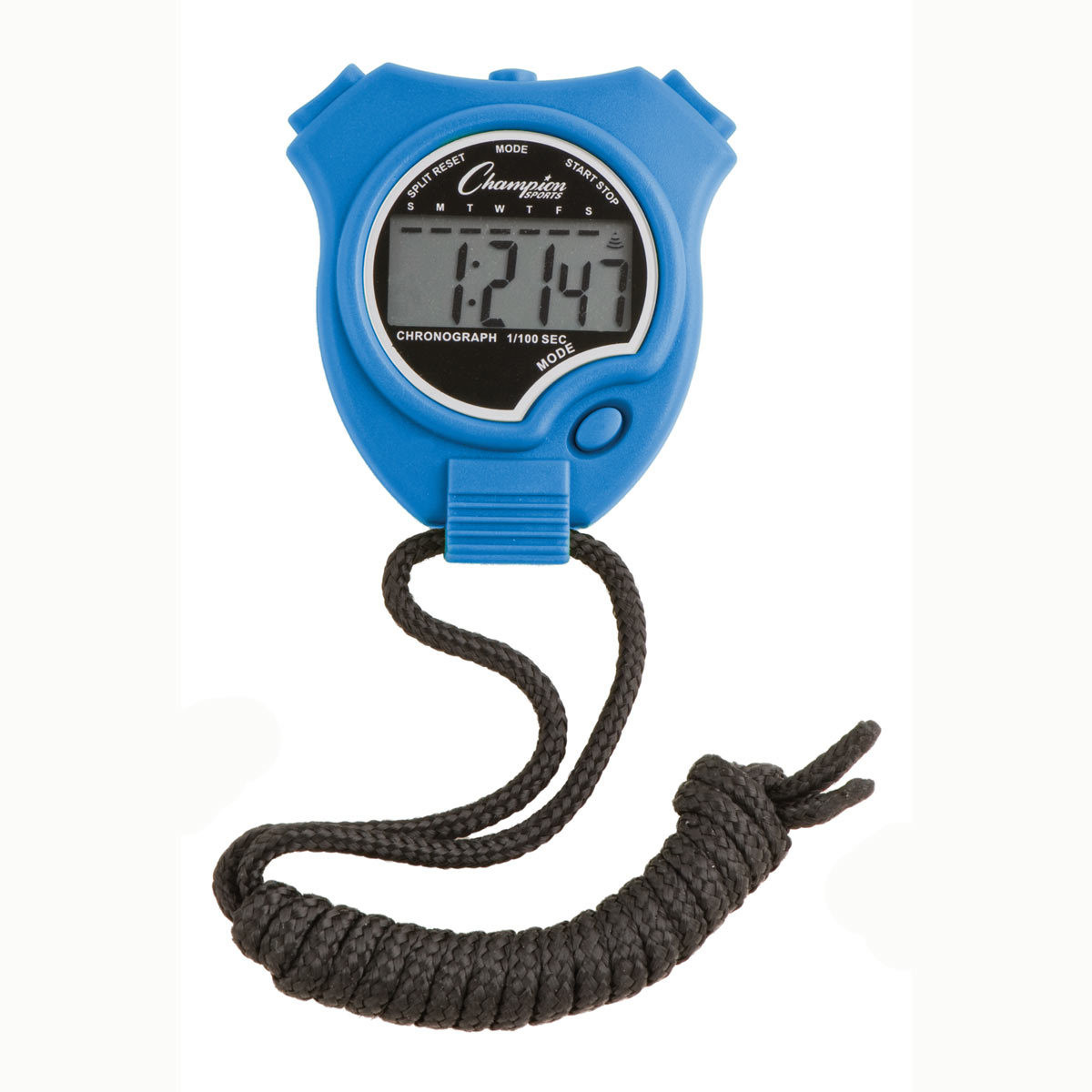 Champion Sports 910 Stopwatch and Timer Blue