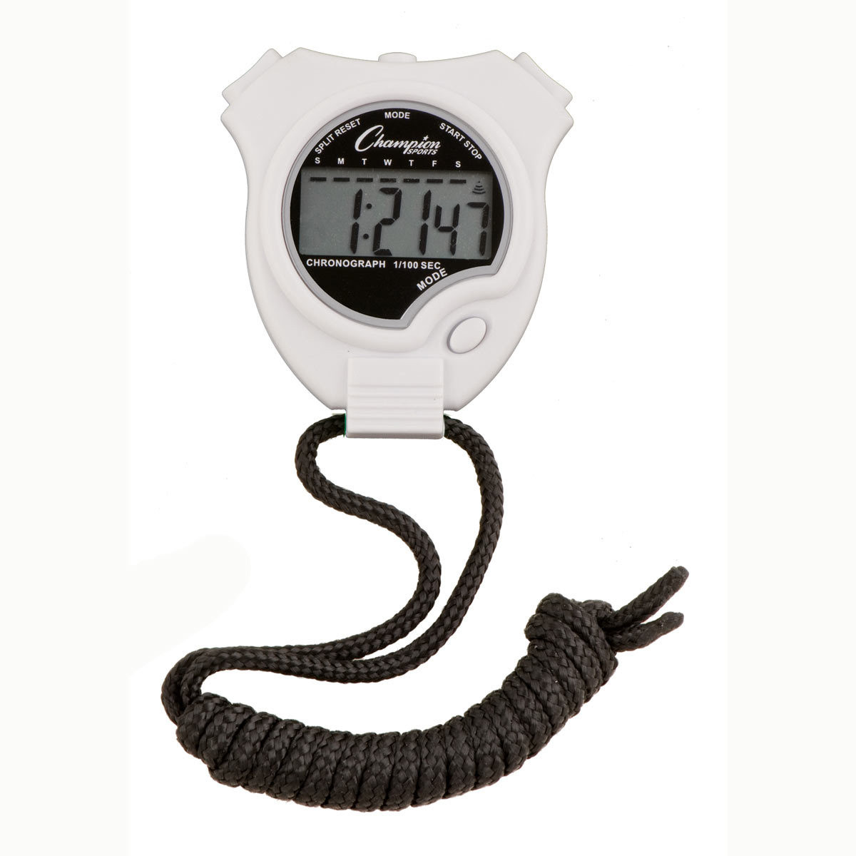 Champion Sports 910 Stopwatch and Timer White