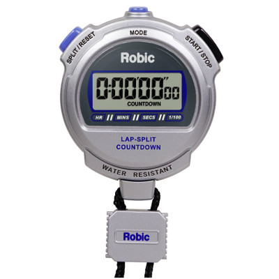 Robic Silver 2.0 Twin Chronograph & Countdown Timer