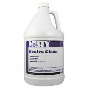 Amrr800 4 Misty Neutra Clean Floor Cleaner Fresh Scent 1 Gal Bottle Includes 4 Bottles Case