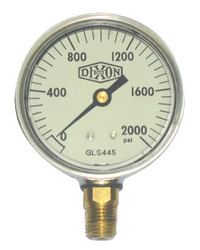 238-GLS425   Dixon Valve Liquid Filled Gauges