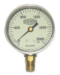 238-GLS445   Dixon Valve Liquid Filled Gauges