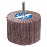 481-08834144459 | Merit Abrasives Interleaf Flap Wheels with Mounted Steel Shank