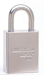 045-A7261KD | American Lock Steel Padlocks (Square Body w/Tubular Cylinder)