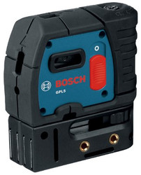 114-GPL5 | Bosch Power Tools 5-Point Self-Leveling Alignment Lasers