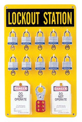 262-65680 | Brady Ten Lock Stations
