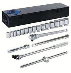 "069-15-710 | Armstrong Tools 20 Piece 3/4"" Dr. Socket Sets"