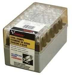 337-24001 | C.H. Hanson Premier Steel Hand Stamp Sets