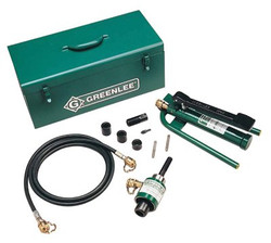 332-7610SB | Greenlee Ram & Foot Pump Hydraulic Driver Kits