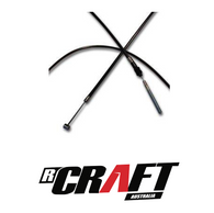 """Fast 50's 3"""" Extended Brake Cable CRF/XR50"""