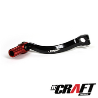 RHK HONDA CRF 110 2013-16 GEAR LEVER WITH RED ROTATING TIP