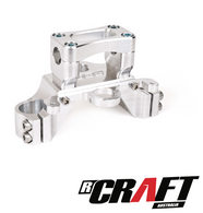 BBR Number Plate Bracket, Tripleclamp, Silver/CRF110F, 19-Present