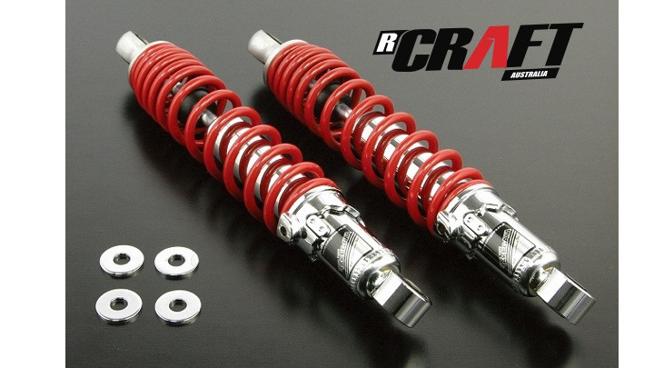 Takegawa Sp Rear Shock Absorber 305 Mm Red 2 Pieces Monkey 12