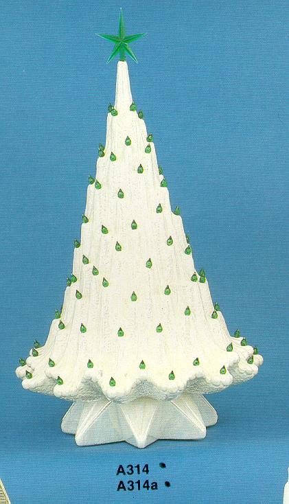 Modern Tree By Atlantic Mold No A314 With Star Base