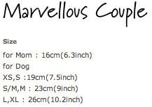 Louisdog Organic Lace Dress Size Chart