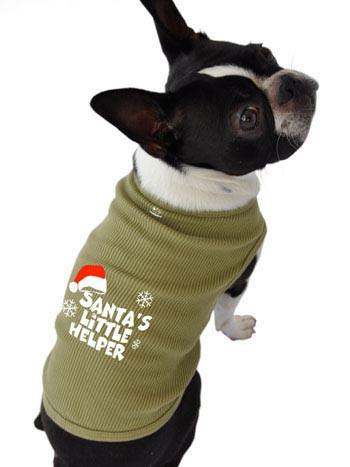 Santa's Little Helper Tank Sweatshirt T-Shirt Bandana