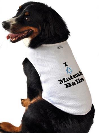 Matzah Ball Dog Tank Top