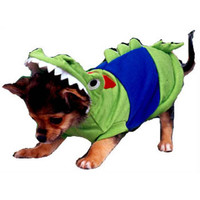 Crocodile Dog Costume