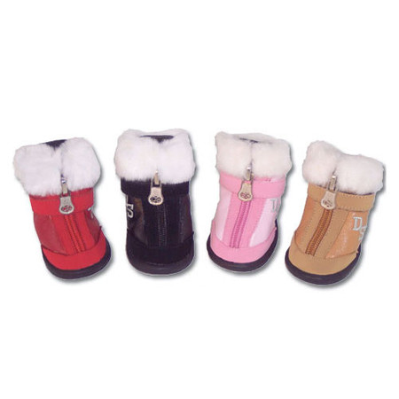 Faux Fur Trimmed Boots