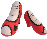 Christian Loubarkin Shoe Dog Toy