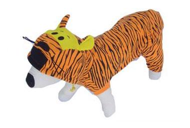 Tiger Dog Costume