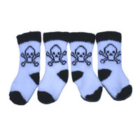 Skeleton Dog Socks