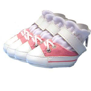 Pink Dog Sneakers
