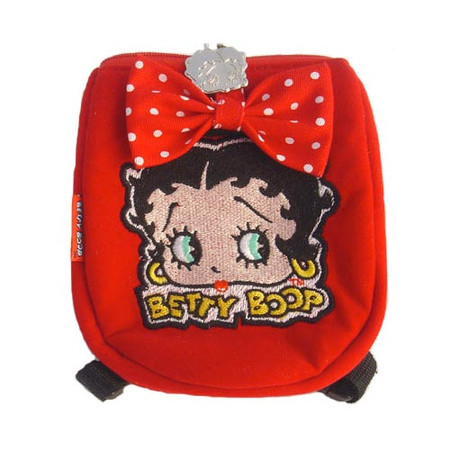 Betty Boop Square Shaped Dog Backpack