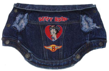 Betty Boop Denim Biker Jacket