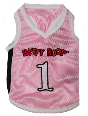 Betty Boop Pink Jersey Tank