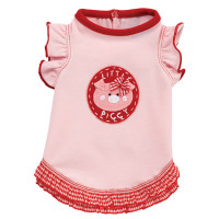 Little Piggy Ruffle Dog Tank Dress