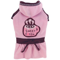 Sweet Cocoa Dog Dress