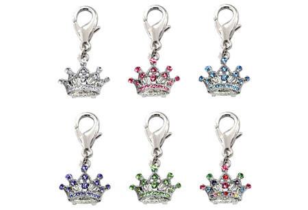 Royal Crown D-Ring Dangler Charms